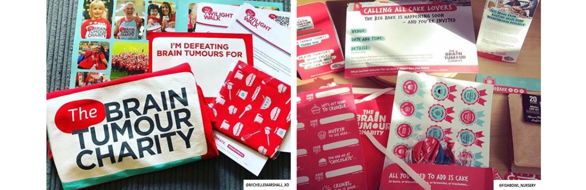 Brain Tumour Charity - Fundraising Packs
