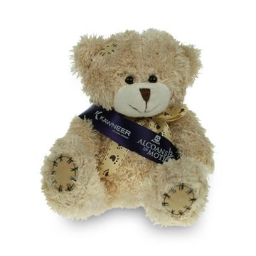 Cappuccino Paw Bear with Sash