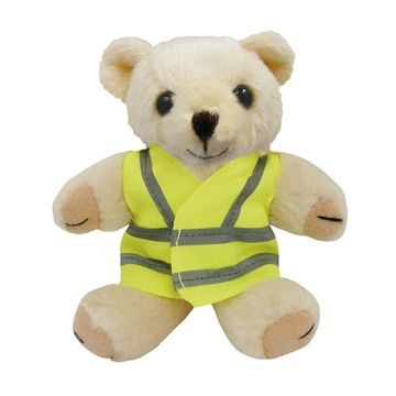 Honey Mini Jointed Bears with Hi-Vis