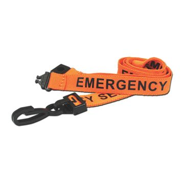 Pre-printed 15mm Emergency Services Lanyard