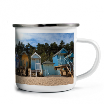 Enamel Photo Mug