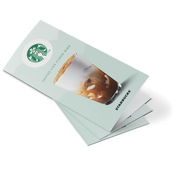 A5 Strip Fold Leaflets