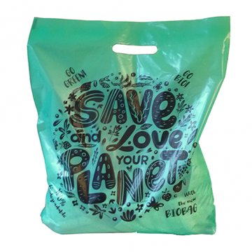 12X18X3 Biodegradable Carrier Bags