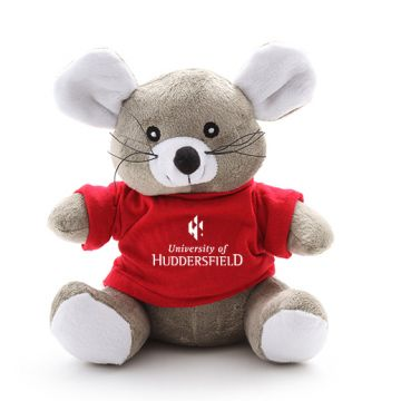 Mouse Soft Toy with T-shirt