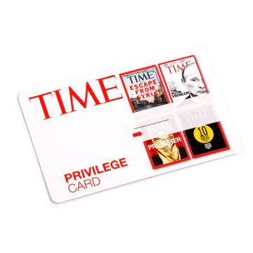 Coated Board Loyalty Cards