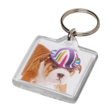 U1 Square Keyrings