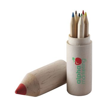 Pencil Holder with Colouring Pencils