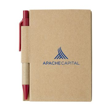 Small Notebook with Pen
