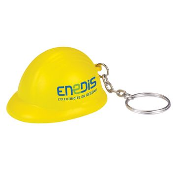 Stress Hard Hat Keyring