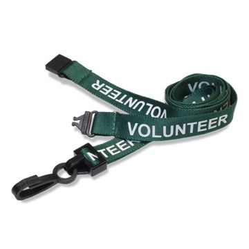 Pre-printed 15mm Volunteer Lanyard