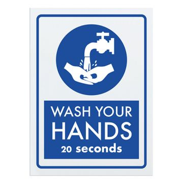 Hand Washing Stickers