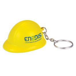 Stress Hard Hat Keyring
