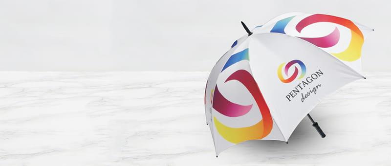 Umbrellas Mobile Banner
